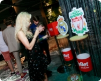 Opening of the largest OlyBet Sports Bar in Latvia