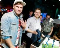 Открытие крупнейшего спортбара OlyBet в Латвии