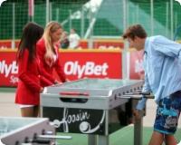 OlyBet Sports Bar's Fan Tent