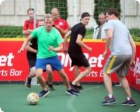 OlyBet Sports Bar fanu telts