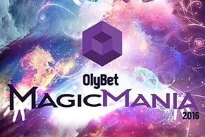 """Otro reizi Rīgā notiks Starptautiskas iluzionistu sacensības  –  """"Olybet  MagicMania"""""""