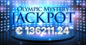 Olympic Casino Mystery Jackpot € 136'211.24 has been won.