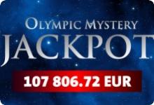Olympic Casino Mystery Jackpot € 107'806.72 has been won.